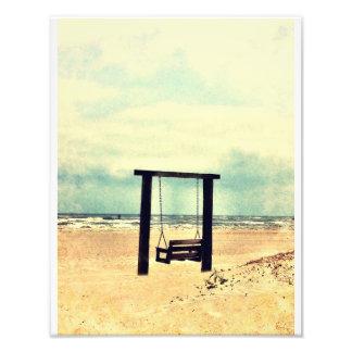 Tybee Swing Art Photo