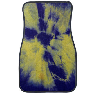 Tye Dye Composition #11 by Michael Moffa Car Floor Carpet