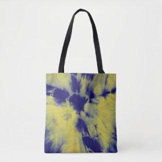 Tye Dye Composition #11 by Michael Moffa Tote Bag