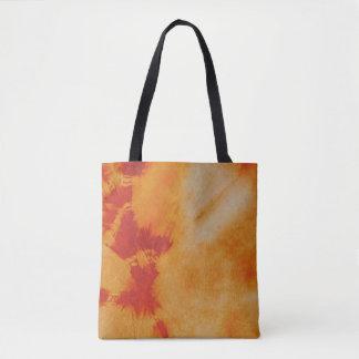 Tye Dye Composition #12 by Michael Moffa Tote Bag
