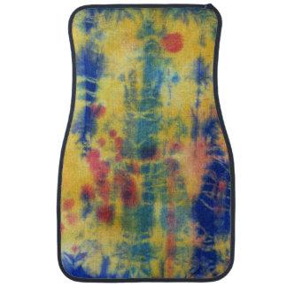 Tye Dye Composition #5 by Michael Moffa Floor Mat