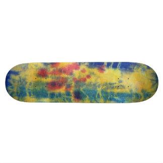 Tye Dye Composition #5 by Michael Moffa Skate Board Deck