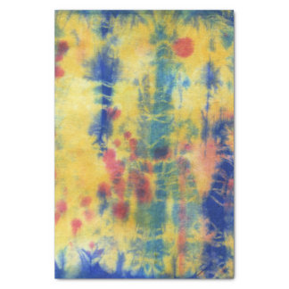 Tye Dye Composition #5 by Michael Moffa Tissue Paper
