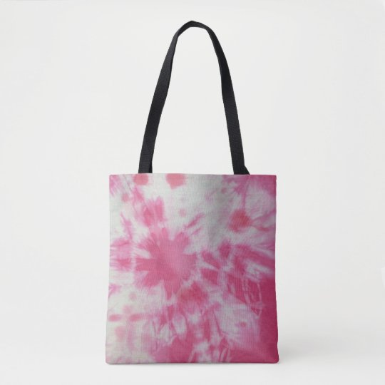 Tye Dye Composition #6 by Michael Moffa Tote Bag