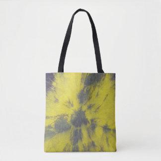 Tye Dye Composition #8 by Michael Moffa Tote Bag