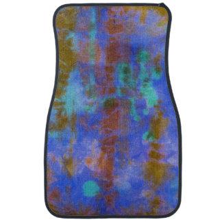 Tye Dye Composition #9 by Michael Moffa Car Carpet