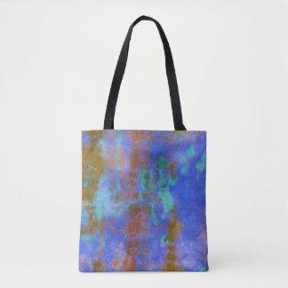 Tye Dye Composition #9 by Michael Moffa Tote Bag