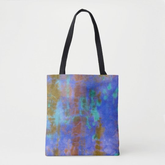 Tye Dye Composition #9 by Michael Moffa Tote Bag