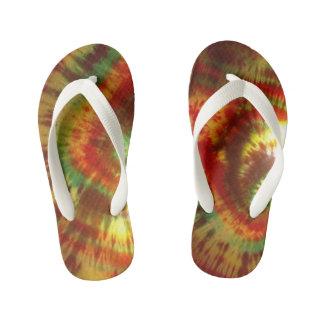 Tye Dye Flops Kid's Flip Flops