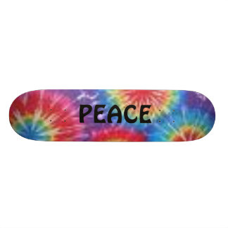 Tye Dye Skateboard