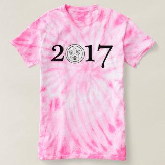 Tye Dyed Inuzuka 2017 pink T-shirt