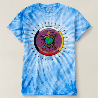 Tye dyed Native American T shirt