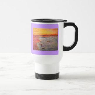 tying one on 15 oz stainless steel travel mug