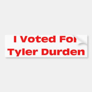 Tyler Bumper Sticker