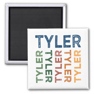 Tyler Cute Colorful Magnet