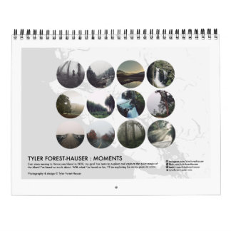 Tyler Forest-Hauser : Moments Calendar