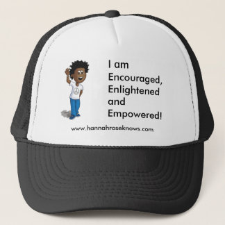 tyler sep, I am Encouraged, Enlightened and Emp... Trucker Hat