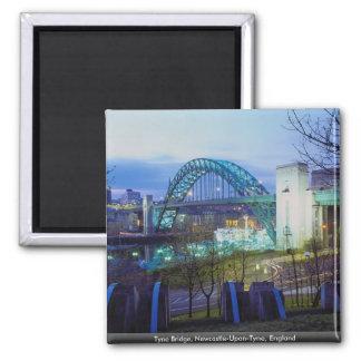 Tyne Bridge, Newcastle-Upon-Tyne, England Magnet