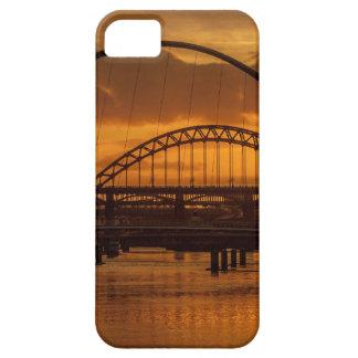 Tyne bridges at sunset iPhone 5 case