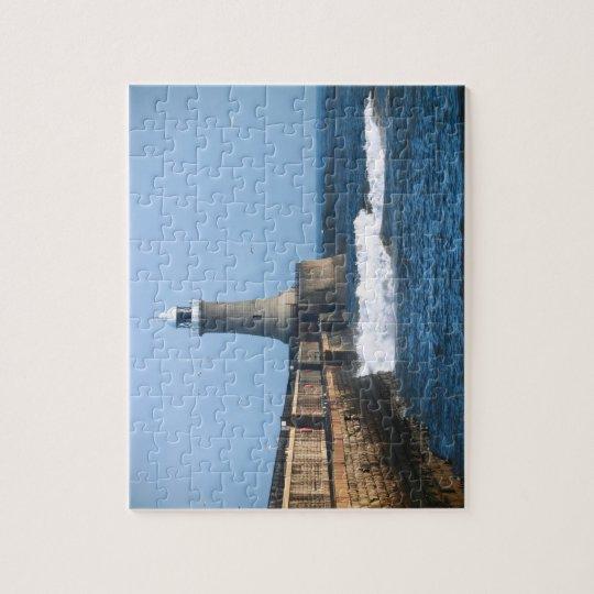 Tynemouth Lighthouse Jigsaw/Puzzle Jigsaw Puzzle
