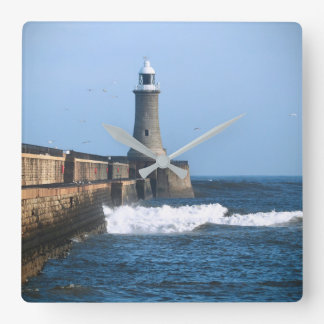 Tynemouth Lighthouse Wall Clock
