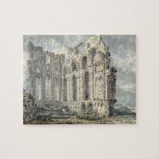 Tynemouth Priory, Northumberland, c.1792-93 (w/c o Jigsaw Puzzle