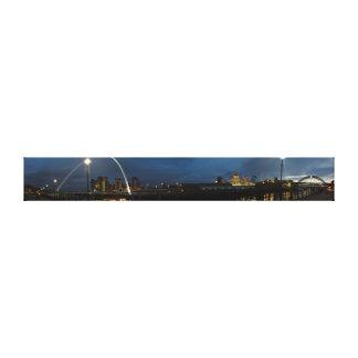 Tyneside Panorama Canvas Print