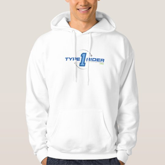 Type1Rider Tour Divide Mileage Hoodie