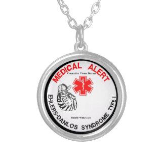 Type 1 d'EDS avec le collier vigilant médical de