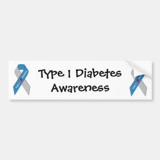 Type 1 Diabetes Awareness Bumper Sticker