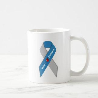 Type 1 Diabetes Awareness Ribbon Coffee Mug