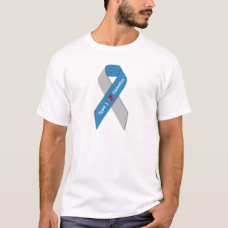 Type 1 Diabetes Awareness Ribbon T-Shirt