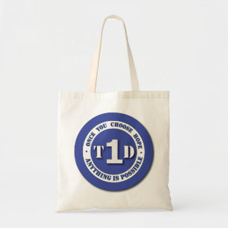 Type 1 Diabetes Shield Tote Bag