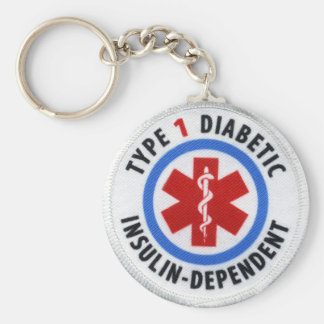 Type 1 Diabetic Keychain
