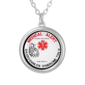 Type 3 d'EDS avec le collier vigilant médical de