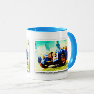 Type 57 - Digitally Work Jean Louis Glineur Mug