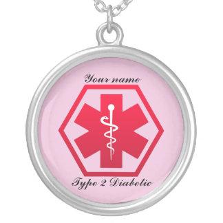 Type - alerte 2 diabétique collier