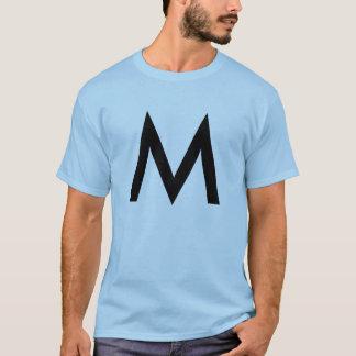 Type conception graphique noire de | t-shirt