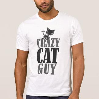 Type fou de chat t-shirt