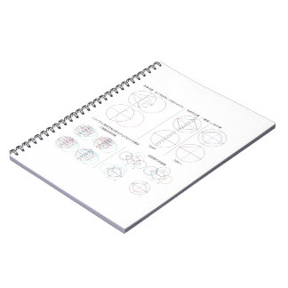 Type of water caltrop notebooks