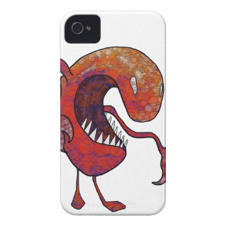 Type rouge coque iPhone 4