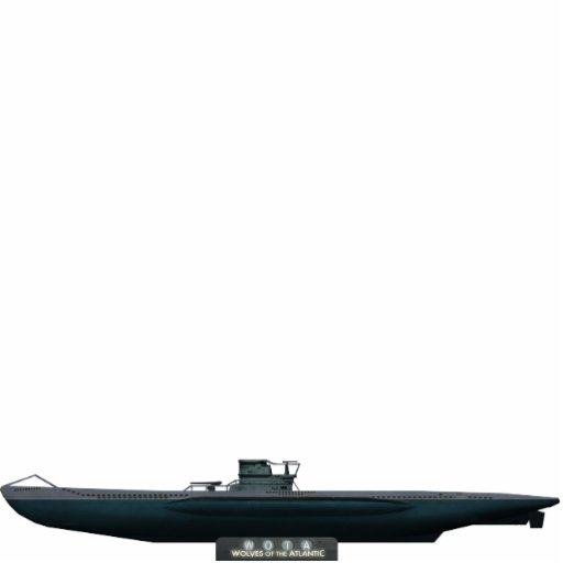 Type VII U-Boat (huge) Photo Cutout