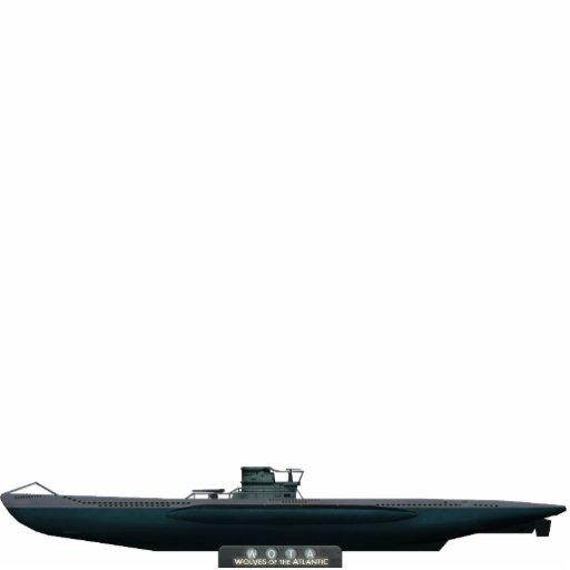 Type VII U-Boat (medium size) Cut Out