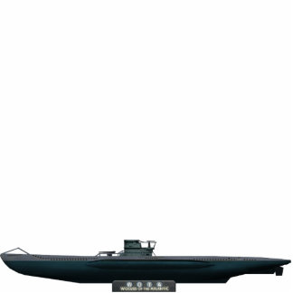 Type VII U-Boat (small) Cut Out