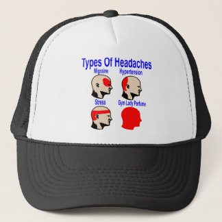 Types Of Headaches: Gym Lady Perfume Trucker Hat