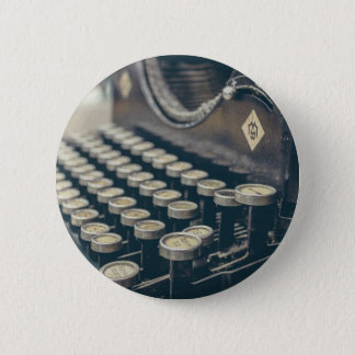 Typewriter 2 Inch Round Button