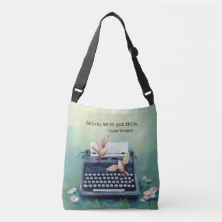 "Typewriter & Bird ""Got This"" Crossbody Bag"