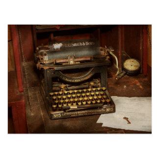 Typewriter - My bosses office Postcard