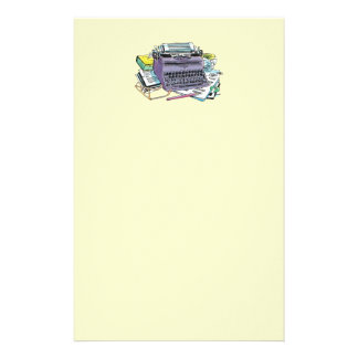Typewriter Stationary Stationery