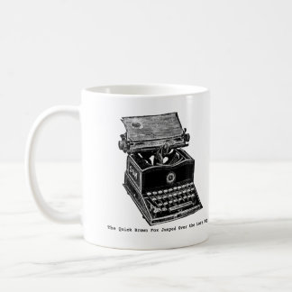 Typewriter, The Quick Brown Fox... Coffee Mug